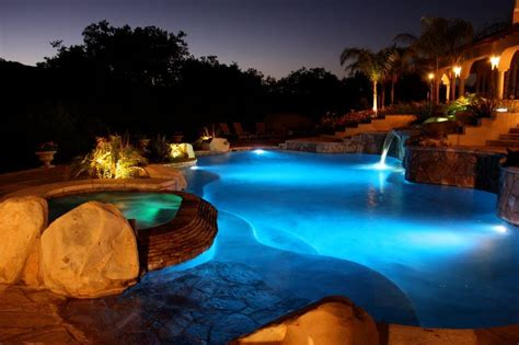 outdoor lighting around pool lighting california pools