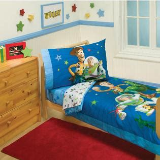 disney toy story 4 piece toddler bed set