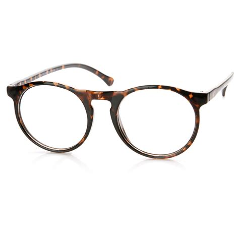 Retro Glasses retro fashion p3 key clear lens circle eye