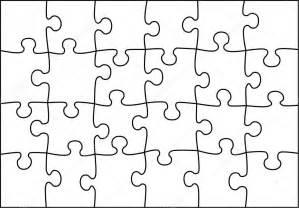 puzzle de vecteur transparente image vectorielle 2955525