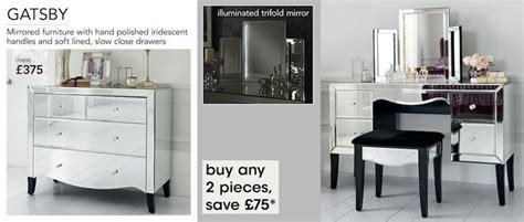 gatsby mirrored bedroom furniture next gatsby mirrored furniture range bedroom accessories