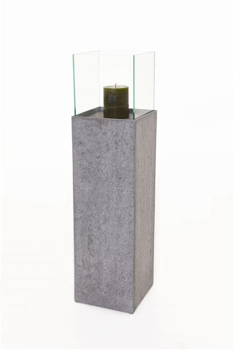 Kerzenhalter 100 Cm by Windlichts 228 Ule Kerzenhalter In Beton Optik Quot Candela Quot 100cm