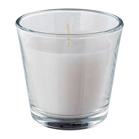 kerzen glas omtalad scented candle in glass ikea
