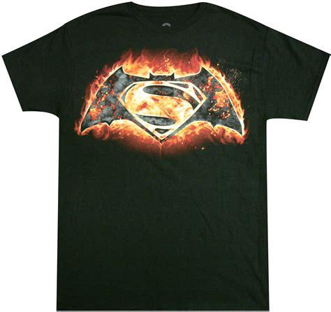Kaos Batman V Superman 29 Tx Oceanseven batman vs superman symbol t shirt official dc comics superheroes t