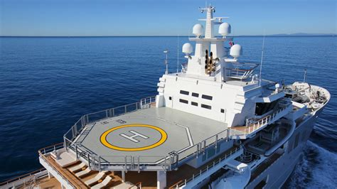 yacht with helicopter top 10 superyacht helicopter decks pure luxe