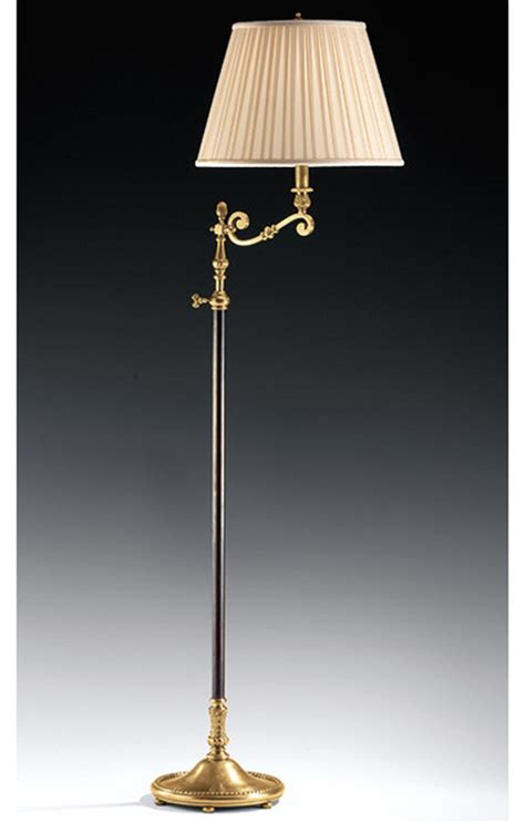 swing arm adjustable lamp traditional floor lamps  inviting home