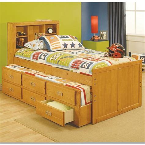 captains bed with bookcase headboard twin bookcase headboard bed for the home pinterest