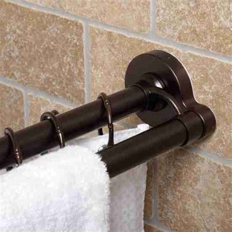 Shower Curtain Rod Rubbed Bronze by Rubbed Bronze Shower Curtain Rod Decor Ideasdecor Ideas
