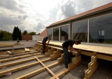 terrasse unterbau terrassenholz aus zirbe bauer holz