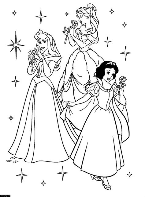 coloring pages free disney princess ecoloringpage printable coloring pages