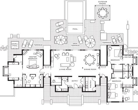 Guest House Floor Plans 500 Sq Ft by Bora Bora Beachfront Villa Three Bedroom Four Seasons