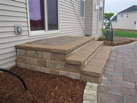 Paver Patio Steps Patio Design Ideas Montgomery Ideas Backyard Steps Ideas