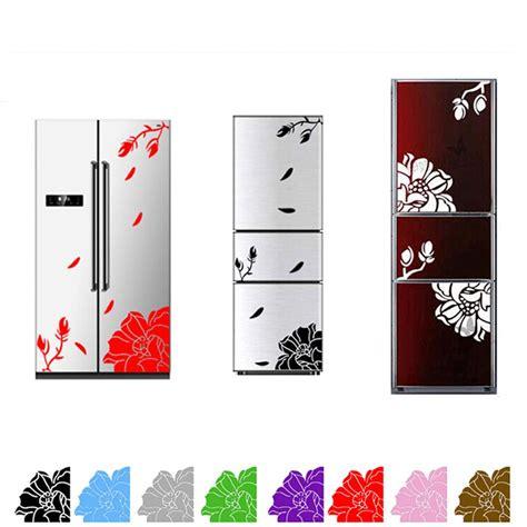 Wallstickers 50x70cm High Single Flower 1 pc one set high quality magnolia flower refrigerator sticker home decoration magnolia