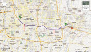peta kota bekasi bekasi mapnallcom