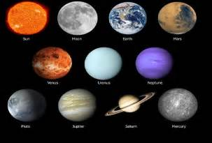 what colors are the planets all planets in our galaxy page 4 pics about space