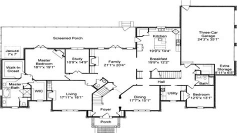 Traditional Colonial House Plans Colonial House Floor Plans Traditional Colonial House Floor Plans Colonial Home Floor Plans