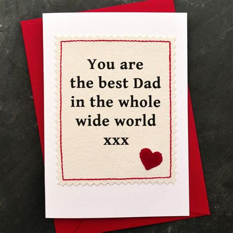 best fathers day card best handmade fathers day card by arnott cards