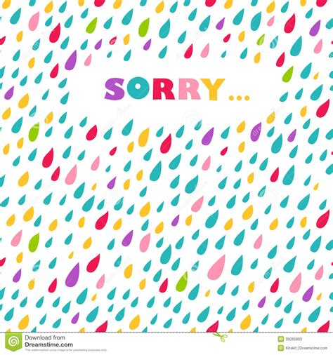 Sorry Card Template by Sorry Card Template Appology Card Sorry Card Apology Card