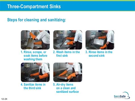 3 compartment sanitizer chapter 12 cleaning and sanitizing
