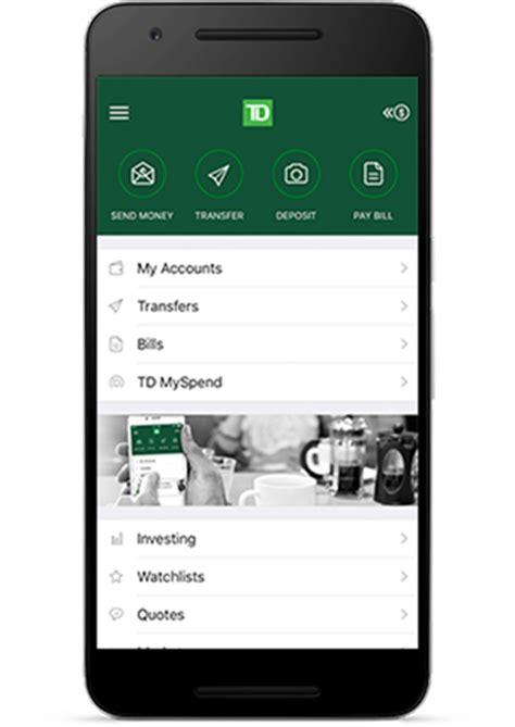 td easyweb phone app