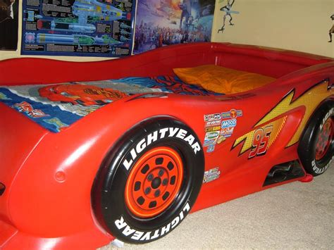 mcqueen bed lightning mcqueen car bed