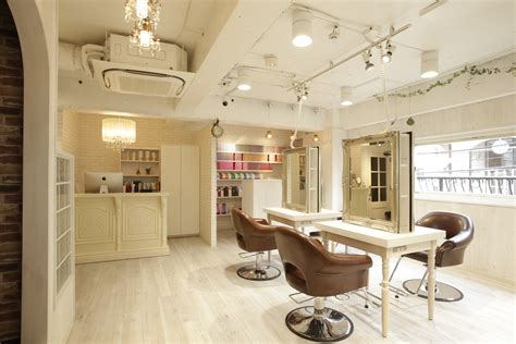 Inexpensive Home Decor Stores beauty salon interior design ideas hair space decor japan