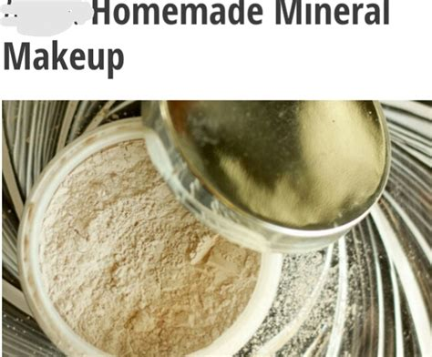 Handmade Mineral Makeup - musely