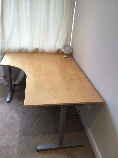 Ikea For Sale by Reduced Birch Galant Ikea Office Corner Desk For Sale