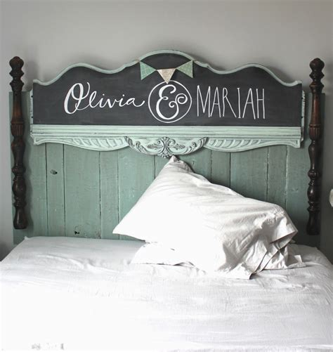 diy chalkboard headboard namely original diy headboard