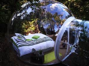 Most unusual hotels in the world bubble tree