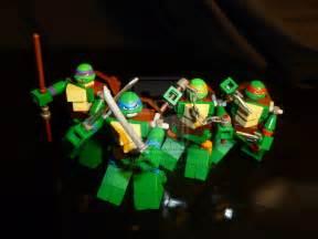 teenage mutant ninja turtles lego by boyzwiththemosttoyz