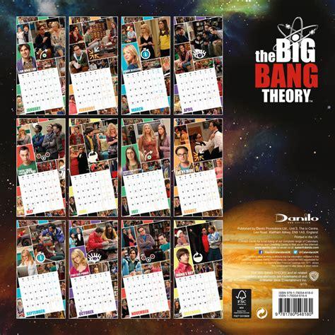 Calendar Big The Big Theory Calendars 2018 On Europosters