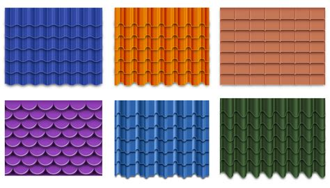 tile roofing icon vector roof tile collection free vector