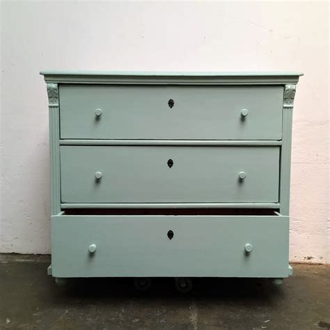 commode turquoise commode turquoise 187 dijk en ko