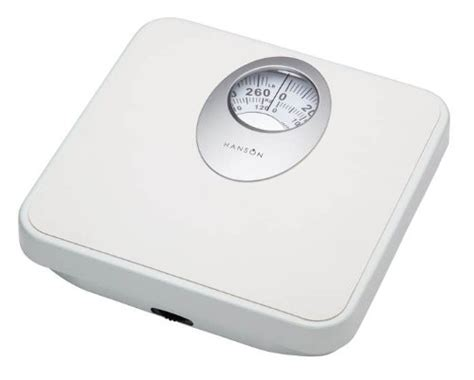 hanson digital bathroom scales hanson h61 mechanical bathroom scale with magnified