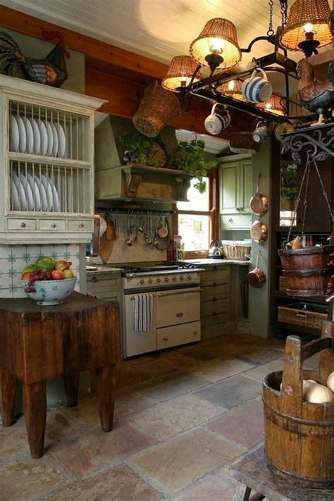 Primitive Island Lighting Fascinating Primitive Kitchen Island Lighting Using Wicker Rattan L Shades With Copper Pot