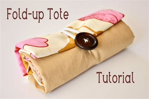 pattern for fold up tote bag make a fold up tote bag 187 dollar store crafts