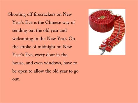 new year symbols and customs new year customs and traditions ppt