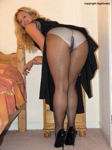 Bj Print White Glossy Dress leg show jo li 1 legs nylons heels and