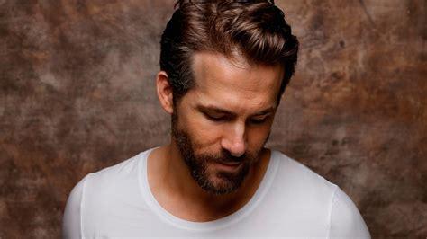 young man with beard wallpaper full hd wallpaper ryan reynolds beard t shirt hairstyle