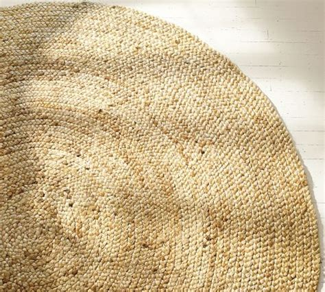 Round Braided Jute Rug At Pottery Barn 6 For 129 Pottery Barn Braided Rug