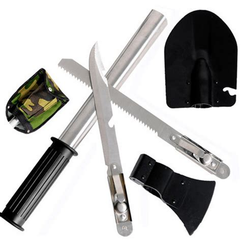 hiking tool new outdoor cing tools kit set hiking survival knife