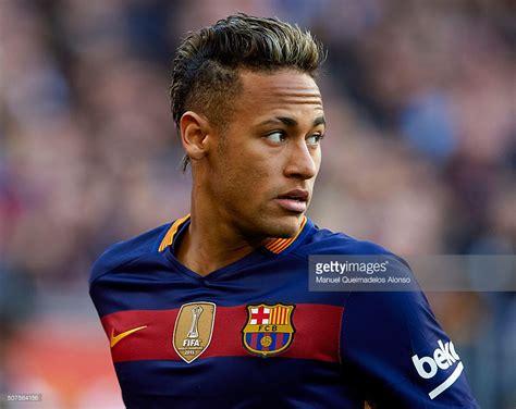 Neymar Jr Neymar Jr Of Barcelona Looks On During The La Liga Match