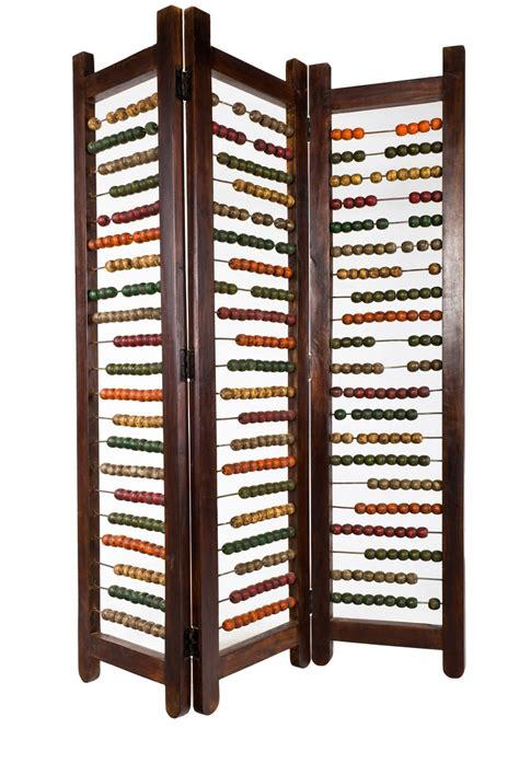 like for room or play area abacus room divider for