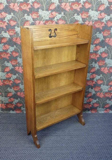 arts and crafts bookcase arts and crafts oak bookcase c1910 antiques atlas