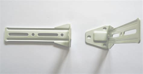 curtain mounting brackets l shape double mounting bracket for curtain rods
