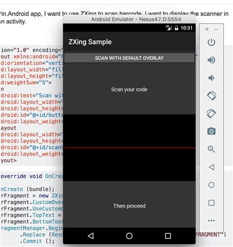 Android Zxing by Xamarin Android How To Make Zebra Xing Zxing As