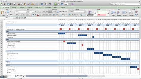 multiple project tracking template excel download and