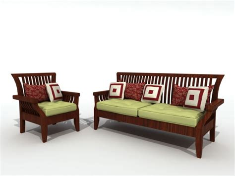 Wood Sofa Furniture Plushemisphere