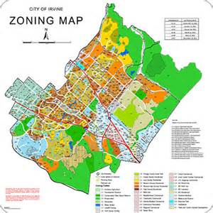 zoning map irvine chamber economic development resource library